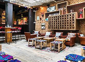 1K Paris hotel bar lounge
