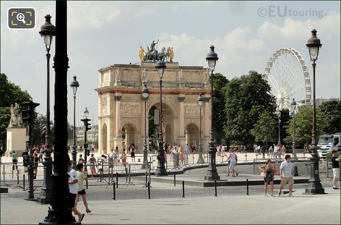 Photo Of Arc De Triomphe Du Carrousel