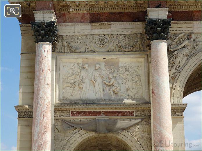 Arc De Triomphe Du Carrousel Bas Relief