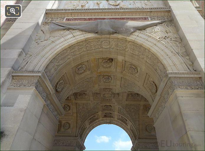Archways On The Arc De Triomphe Du Carrousel
