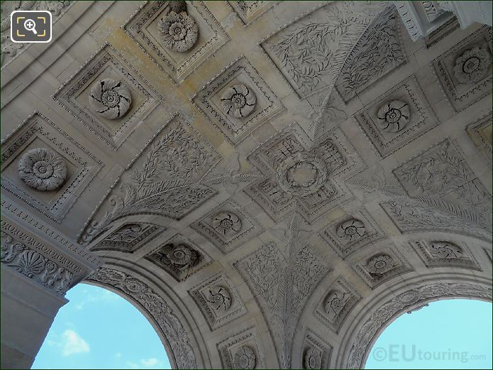 Ceiling Of The Smaller Archways