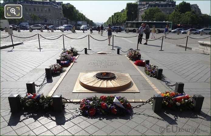 Tomb Of The Unknown Soldier And Eternal Flame