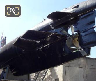 Argonauts Stern Planes And Propeller