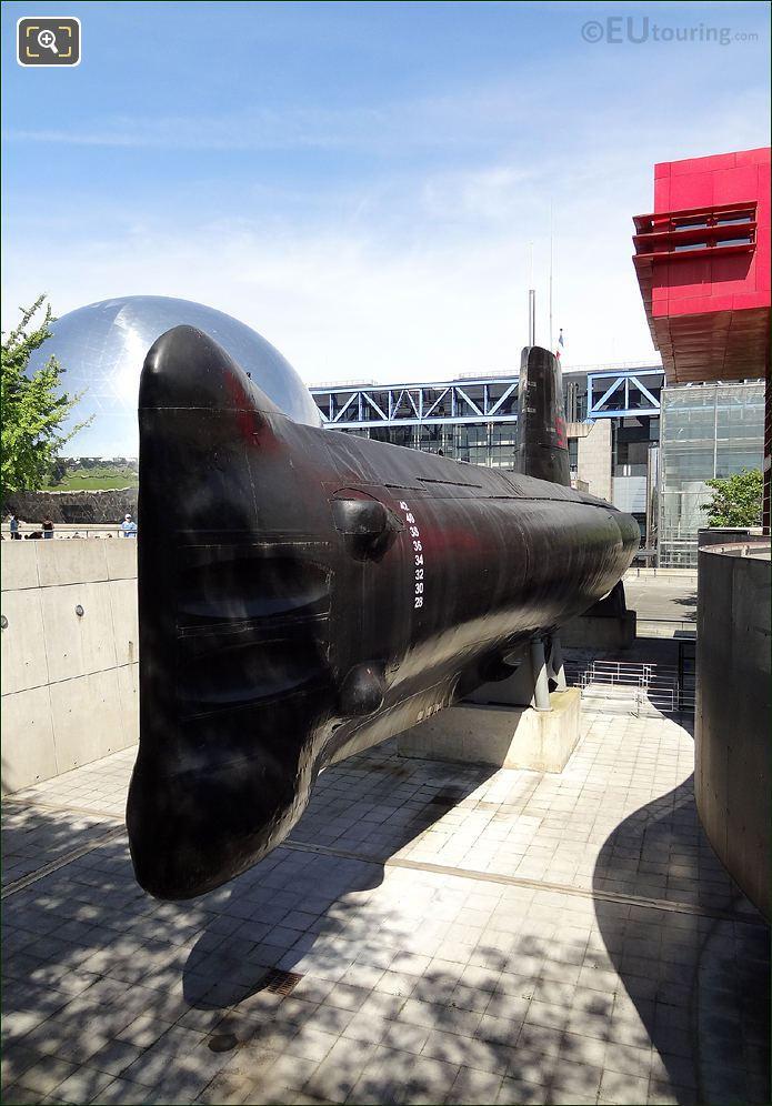 S636 Argonaut Submarine Paris