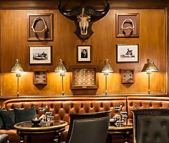 Bar Hemingway Trophies At The Ritz Hotel