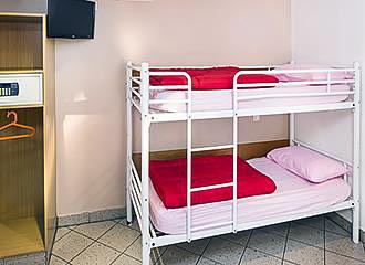 Bastille Hostel bunk beds