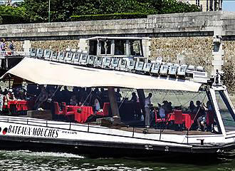 Bateaux-Mouches Cruises On The River Seine