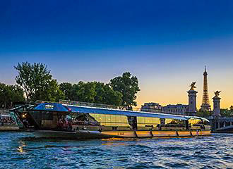 Cruises On The River Seine