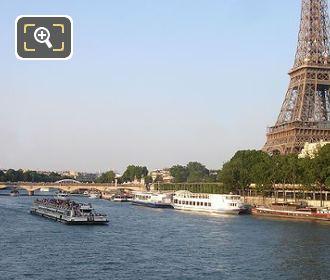 Tourist On Sightseeing Cruise Boat