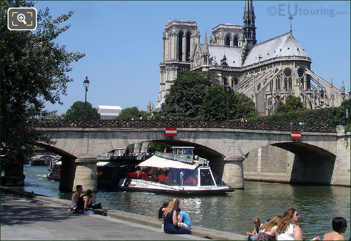 Bateaux Mouches Boat on The River Seine