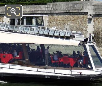 Bateaux Mouches Lunch Cruise On The River Seine
