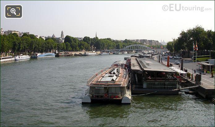 Bateaux Parisiens Boat Moored