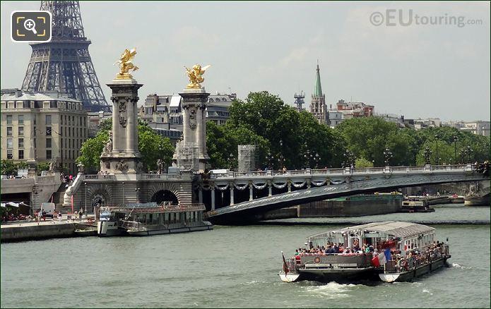 Bateaux Parisiens Boat Jeanne Moreau