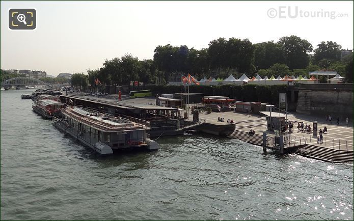 Photo Of The Batobus Water Bus In Paris