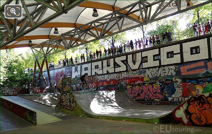 Parc De Bercy Skate Park