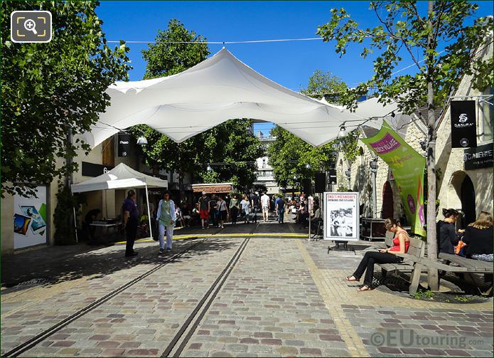 Bercy Village Cobbled Street