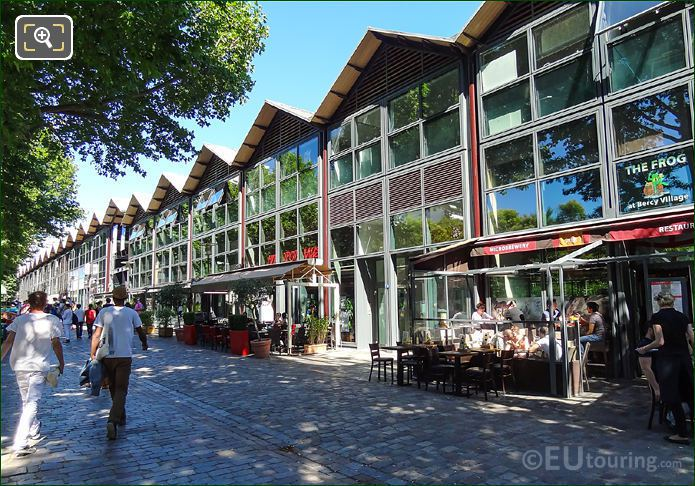 Retail Outlets Rue Francois Truffaut Bercy Village