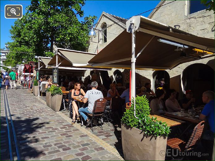 Restaurants And Cafes Bercy Village