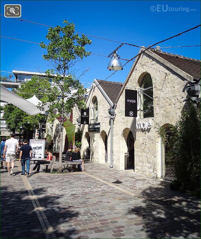 Maje And Galerie Sakura Bercy Village