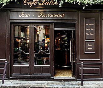 Cafe Latin In Paris