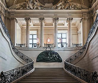 Cafe Mollien Staircase