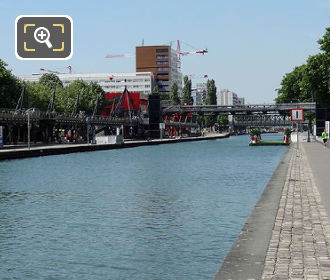 Allee Du Canal Canal De l Ourcq