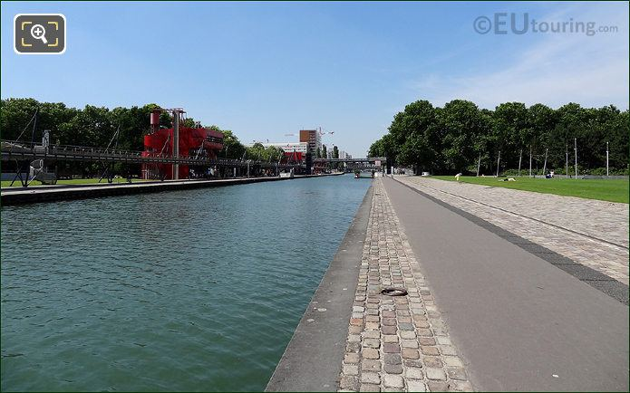 Morring Ring Along Canal De l Ourcq