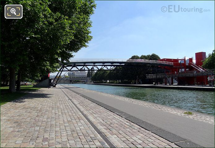 Pont Galerie De La Villette Canal De l Ourcq