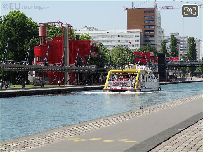Sightseeing Cruise Canal De l Ourcq