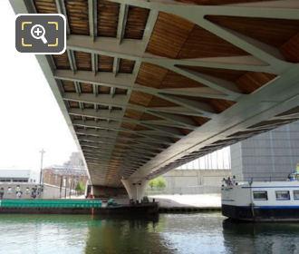 Tram Line 3B Bridge Canal De l Ourcq