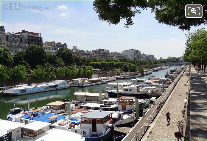 Port de l Arsenal On Canal Saint-Martin