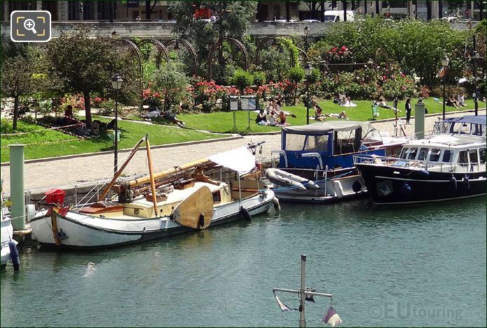 Canal Saint-Martin Gardens