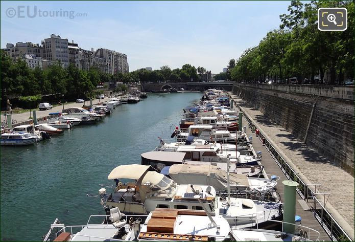 Canal Saint-Martin Pleasure Boats