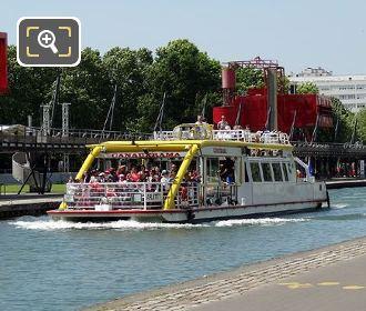 Canauxrama Arletty Boat