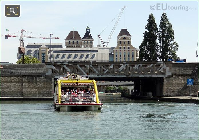 Canauxrama Cruise Canal l Ourcq