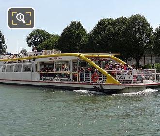 Canauxrama Boat Canal De l Ourcq