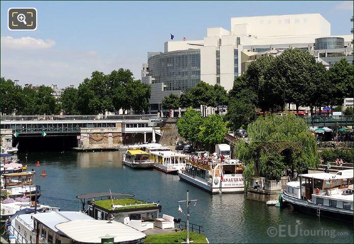 Canauxrama Boat Canal Saint-Martin