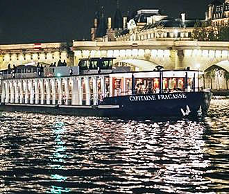 Capitaine Fracasse River Seine Dinner Cruises