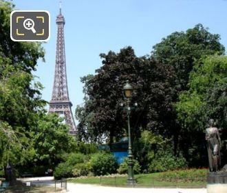 Champ De Mars And Monument Des Droits De L'Homme