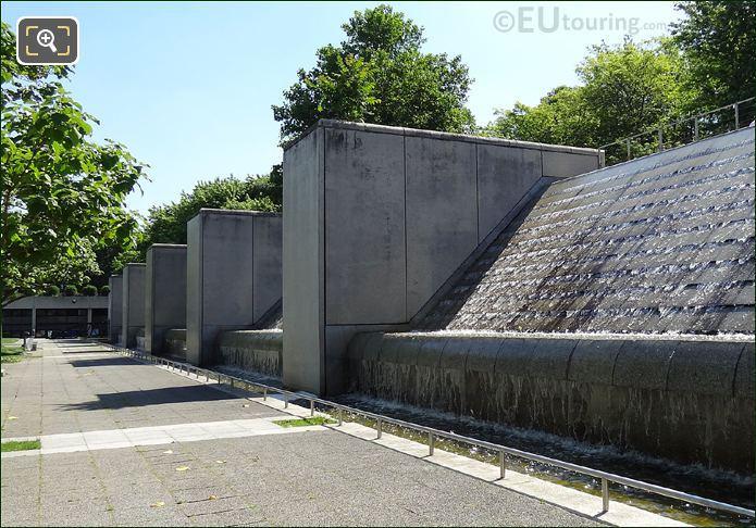 Cite des Sciences Waterfalls