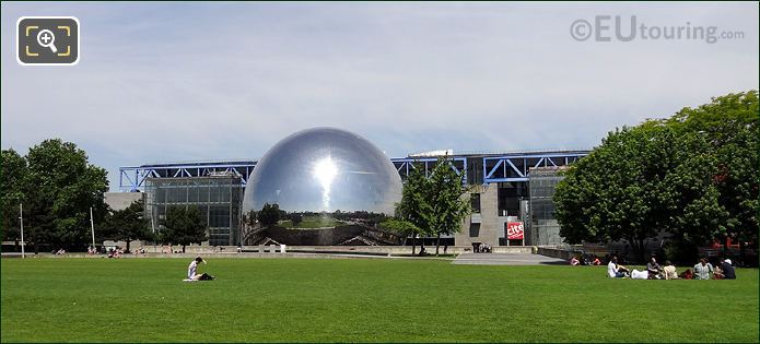 South Side Of Cite Des Sciences