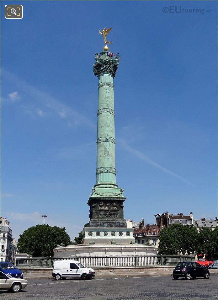 July Column Place De La Bastille