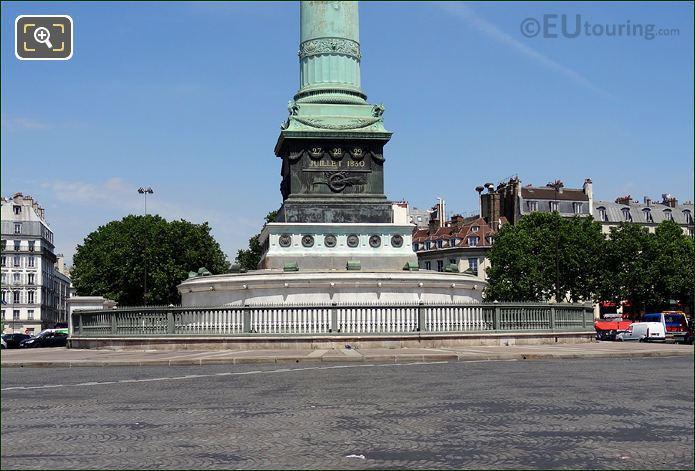 Colonne De Juillet Roundabout