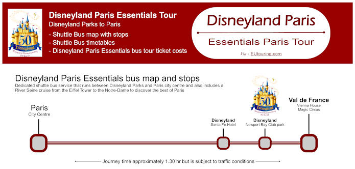 Disneyland Paris Essentials Bus Tour