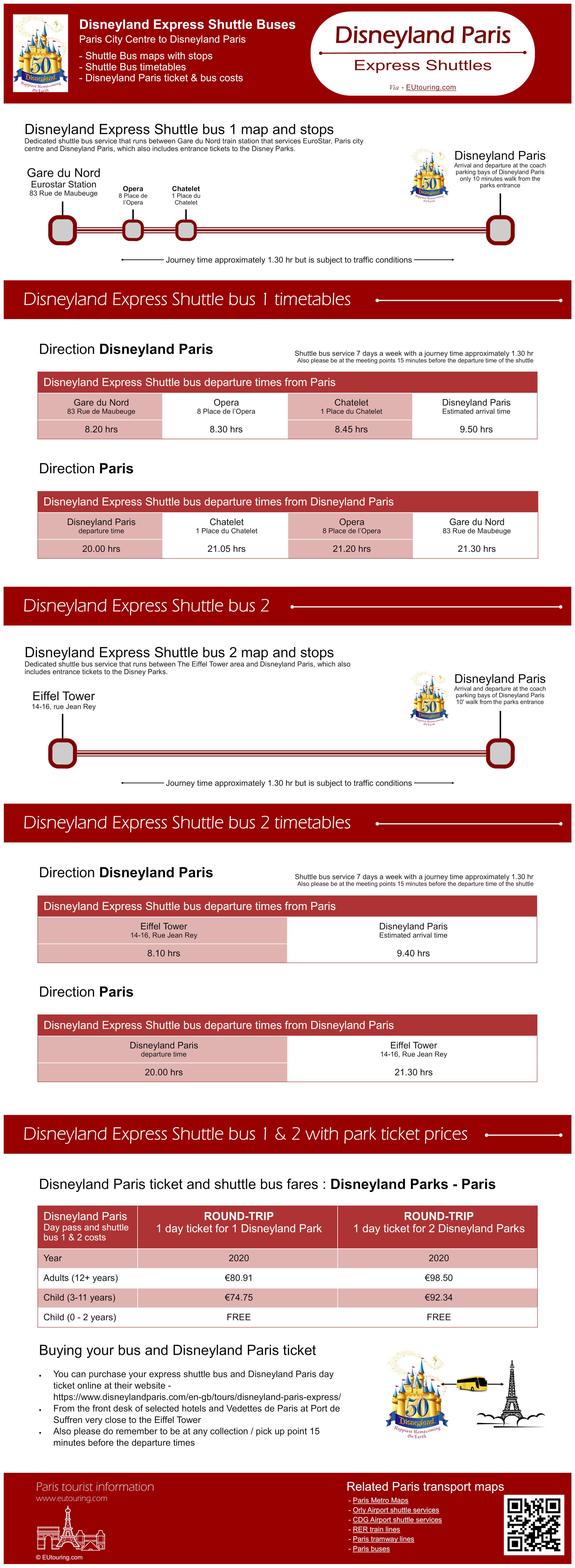 Disneyland Paris Transport Options Including Airport Transfers