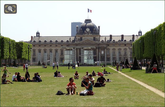 The Ecole Militaire
