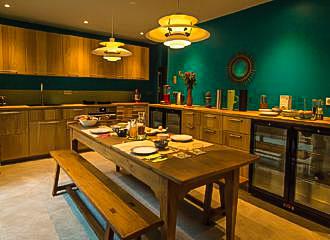 Eden Lodge Breakfast Room