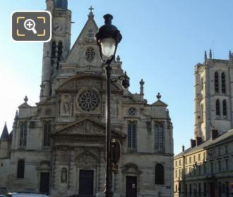 Eglise Saint-Etienne-du-Mont Inside Place Sainte Genevieve