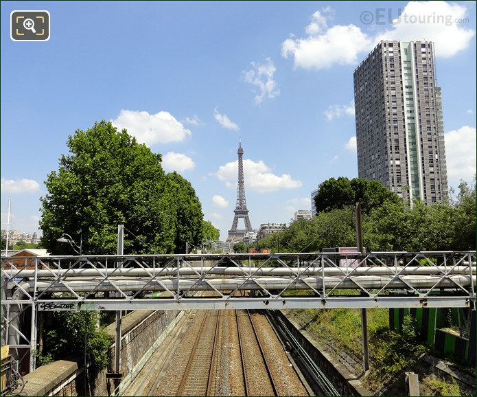 Railway Lines To The Eiffel Tower
