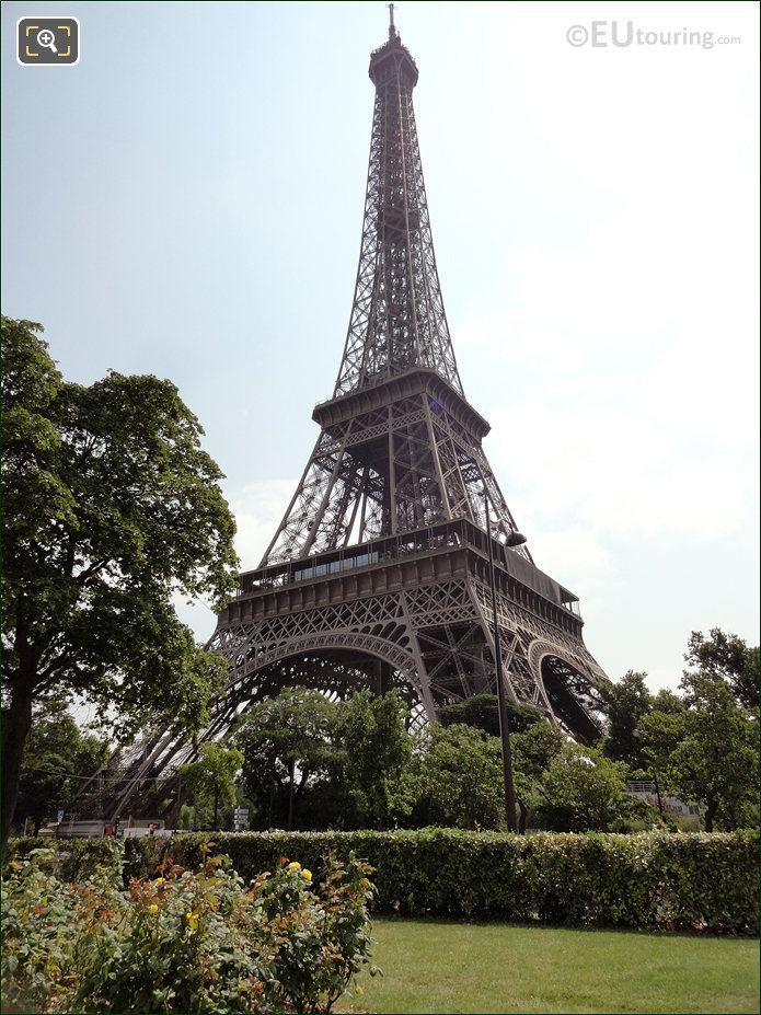 Eiffel Tower View From Quai Branly
